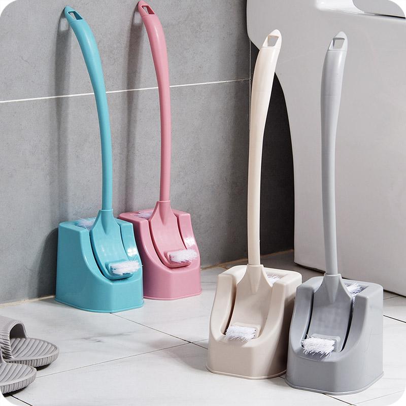 优思居 家用刷马桶刷套装 创意卫生间洗厕所刷子长柄无死角清洁刷