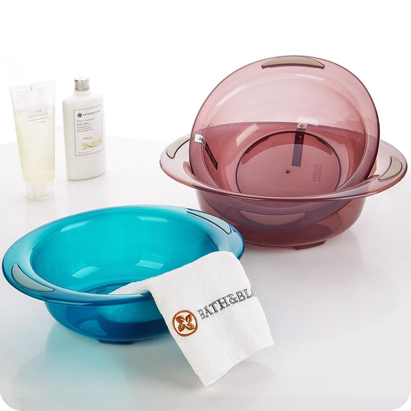 Прозрачный пластик мыть бассейн домой s ребенок прачечная одежда бассейн ребенок умывальник сгущаться мыть блюдо бассейн прачечная бассейн