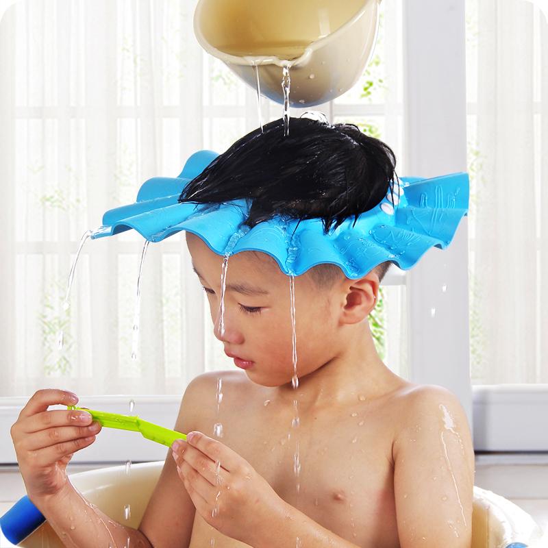 儿童洗发帽可调节婴幼儿洗头帽洗澡帽宝宝洗护系列浴帽洗头洗发帽