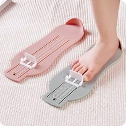 宝宝脚长测量尺 0-8岁儿童买鞋量脚器 妈妈网购测量器刻度尺