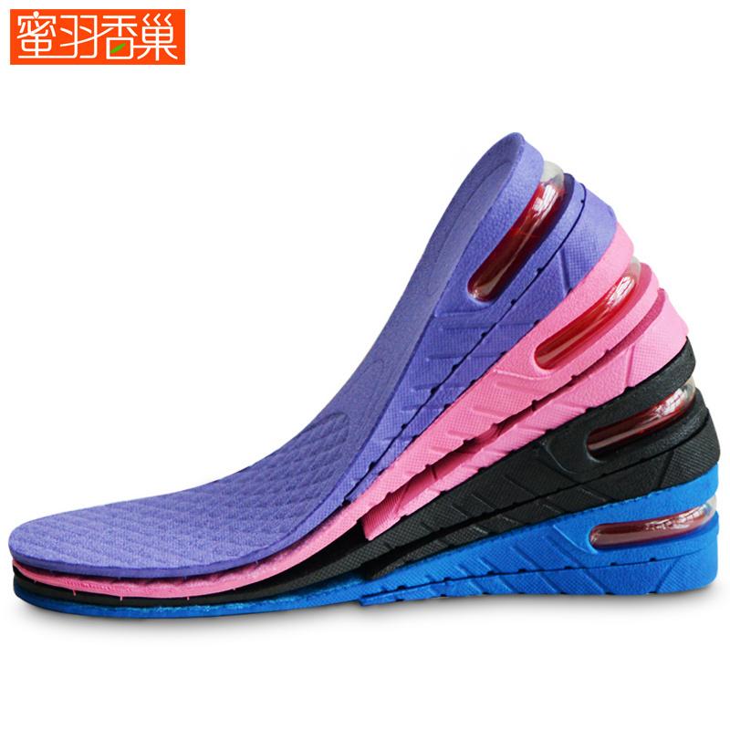 气垫增高鞋垫减震内增高鞋垫男女隐形运动内增高垫全垫PVC增高垫