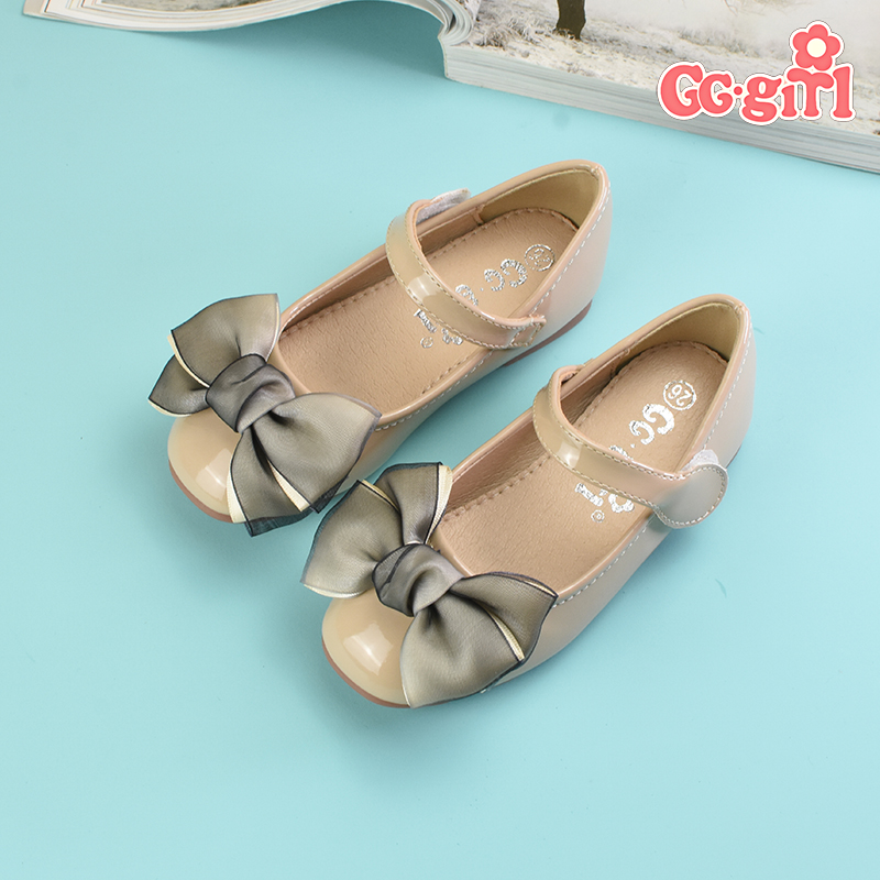Childrens shoes girls shoes 2021 new spring and autumn soft soled baby leather shoes childrens single shoes student little girl princess shoes