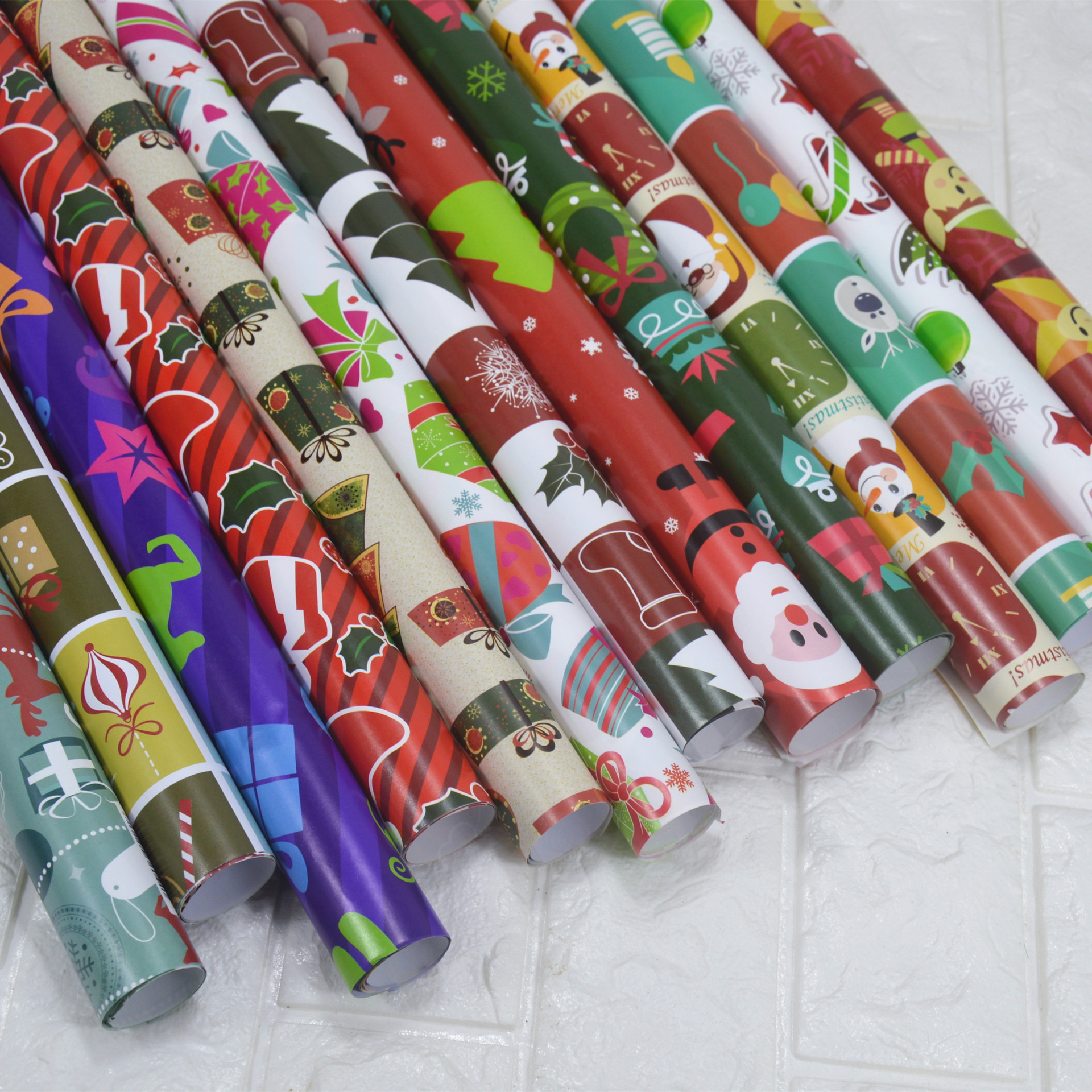 Christmas Wrapping Paper Gift Wrap Artware Packing Package