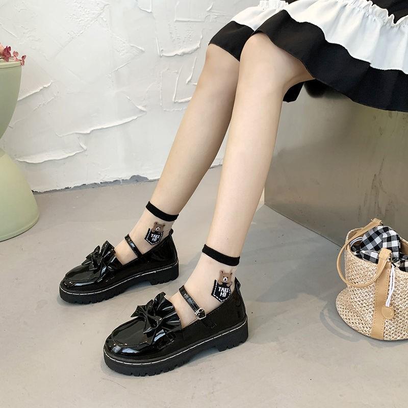 小皮鞋女可爱日系jk制服复古软妹萝莉2021春秋新款lolita洛丽塔鞋