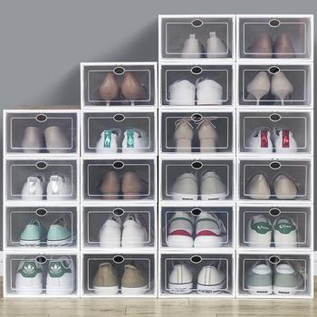 加厚透明鞋子收纳盒抽屉式神器鞋柜
