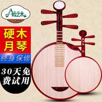 依之木硬木月琴红木色月琴京剧伴奏月琴民乐月琴送配件