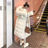 2019新款宽松加厚韩国反季羽绒服女中长款大毛领时尚韩版清仓外套