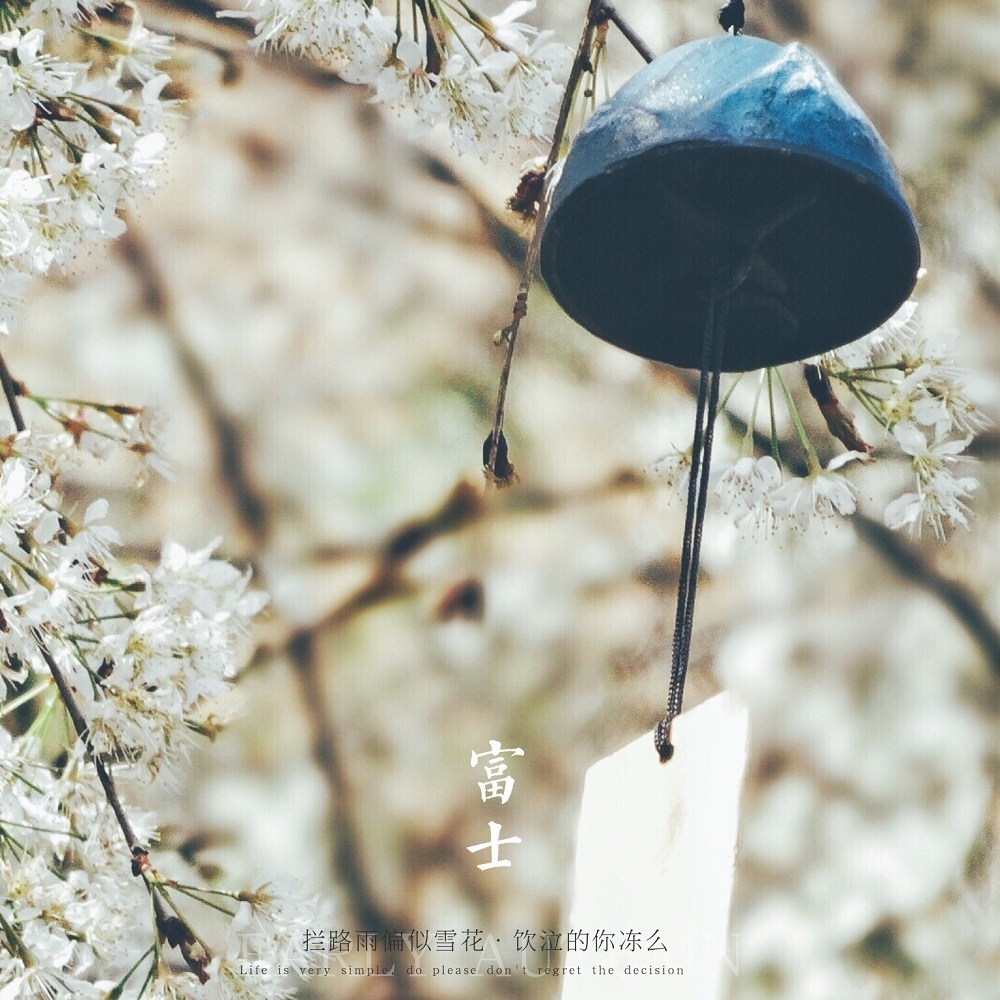 包邮岩手南铸铁日式挂饰富士山风铃