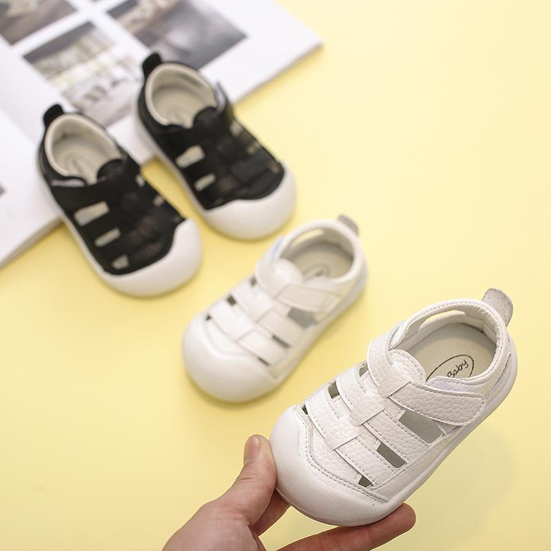 真皮1-3岁儿童软底防滑宝宝鞋子
