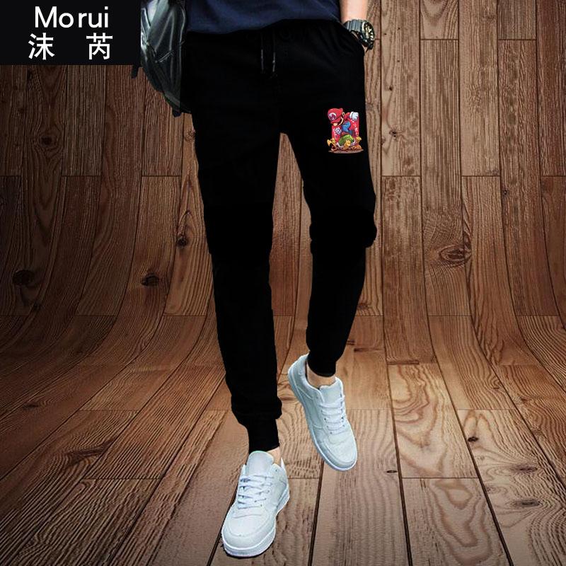 超级玛丽马里奥奥德赛游戏周边卫裤缩小脚裤子男女休闲裤运动长裤