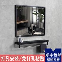 浴室镜防雾触摸屏智能镜卫生间化妆带灯发光镜子挂墙灯镜led壁挂