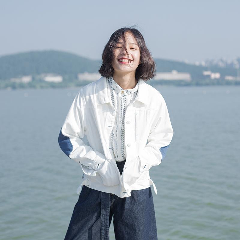 回忆森林春秋日系学生工装短外套热销233件有赠品
