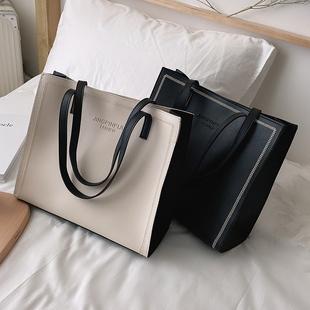 包包女包2021新款高级感洋气质感时尚百搭大容量单肩托特手提大包