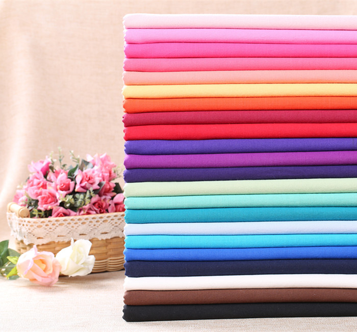First dyed 22 colors versatile practical plain first dyed pure cotton patchwork dress fabric