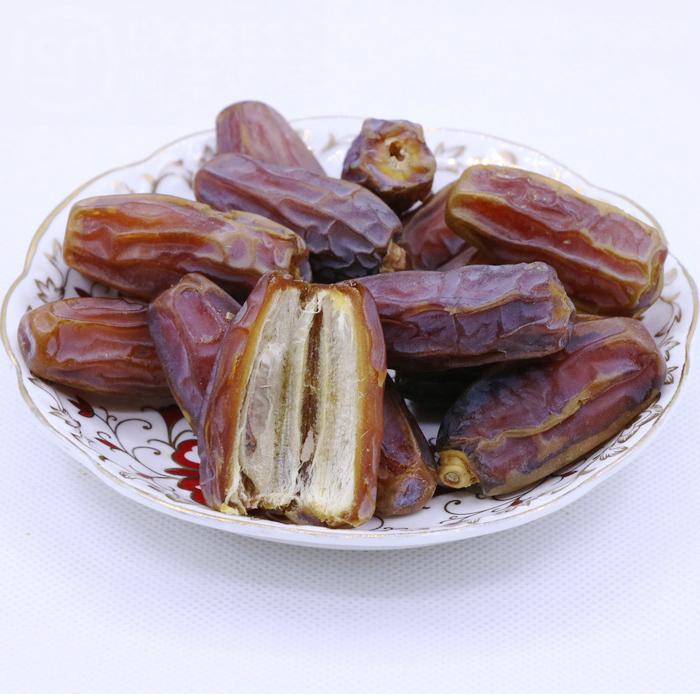 椰枣迪拜椰枣干阿联酋黄金黑蜜枣新鲜进口伊拉克特产干果蜜饯500g