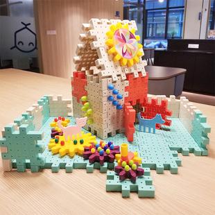 儿童积木拼装 玩具益智力开发动脑3岁6幼儿园宝宝男孩女孩拼插积木