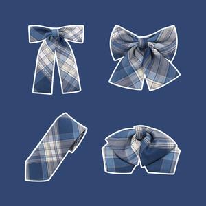 【新款原创jk格子裙配套领结】兔姬舍jk配件领花领带领结