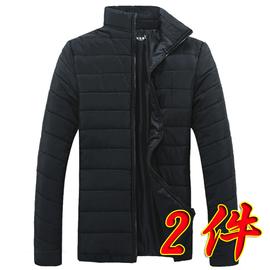 男士外套冬季2019新款迷彩棉衣男面包服大码羽绒棉服工装加厚棉袄