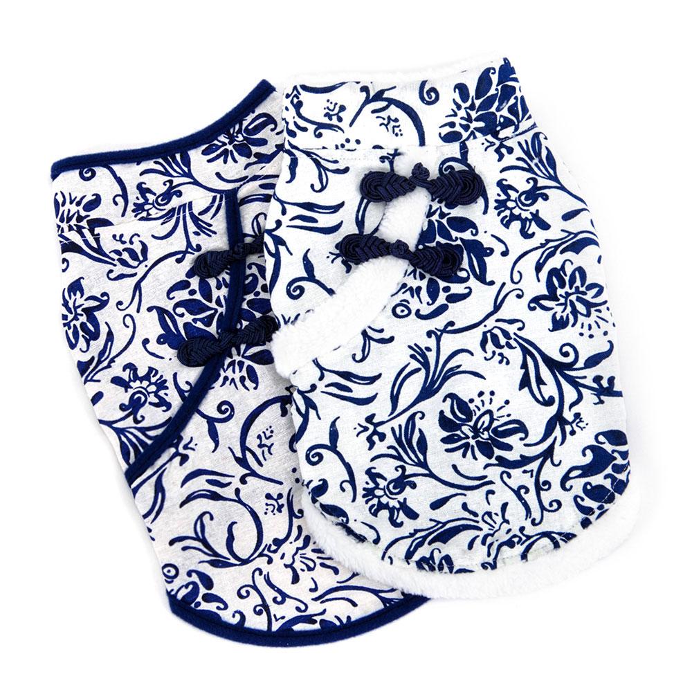貓咪衣服 寵物新年裝小貓衣服冬背心唐裝貓咪新年裝貓貓衣服