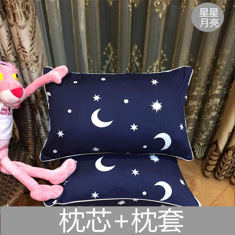 学生枕头宿舍寝室单双人成人护颈椎可爱卡通枕头枕芯送枕套可拆洗