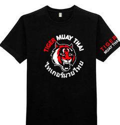Tiger Muay Thai Drifit短袖T恤MMA搏击健身格斗泰国老虎播求泰拳
