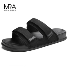 Slippers Men 2019 New Outdoor Leisure Anti-skid Beach Sandals Dual-purpose Fashion Outside Slippers