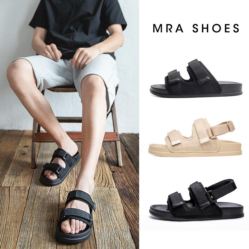 拖鞋男士2021新款夏季室外休闲沙滩凉鞋两用潮流韩版个性外穿凉拖