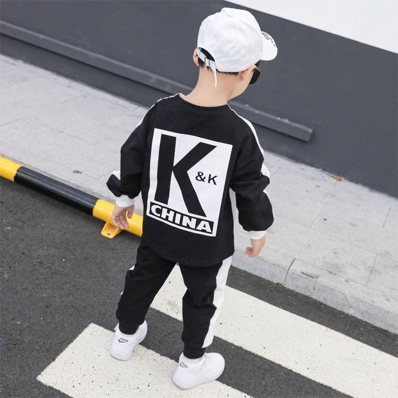同款男童秋装套装kk队服秋款卫衣满99.00元可用40元优惠券