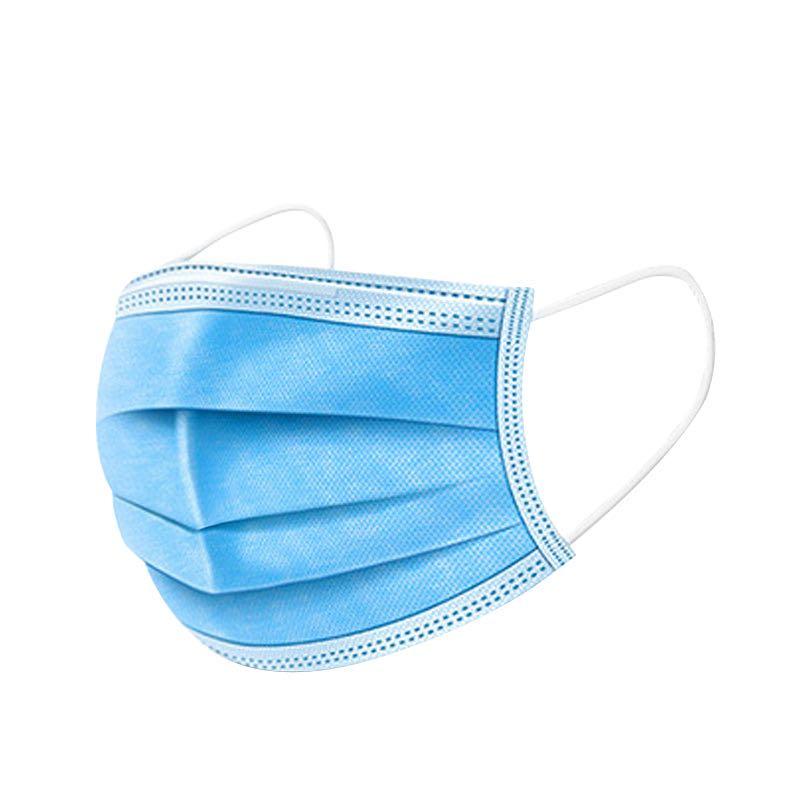 2500只整箱一次性口罩防护三层成人防尘透气加厚冬季美容男女口罩