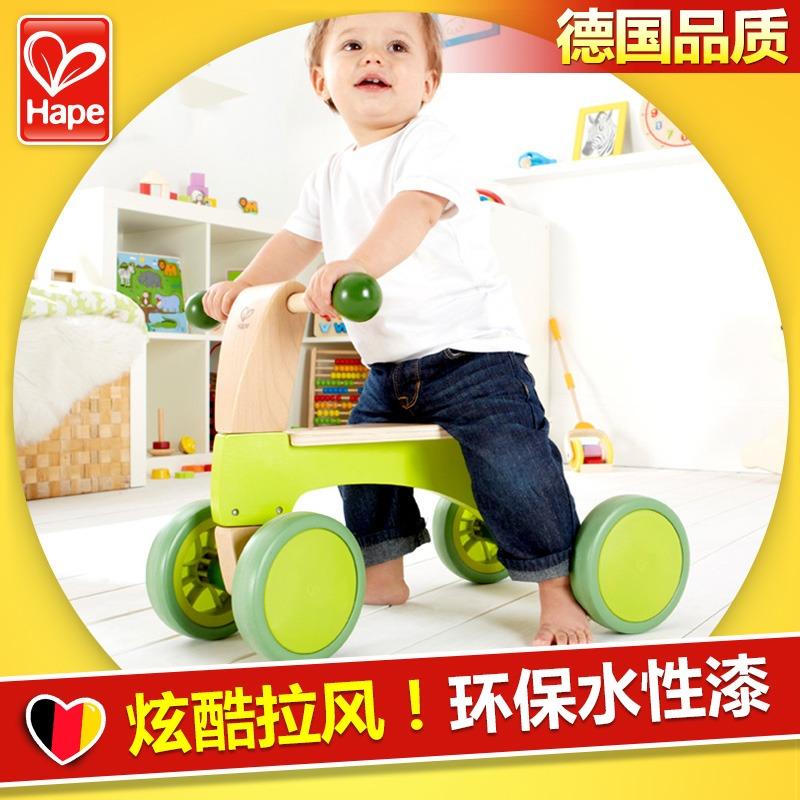 Hape 新奇踏行车可坐滑行车学步宝宝车子儿童益智玩具1-3岁,可领取50元天猫优惠券