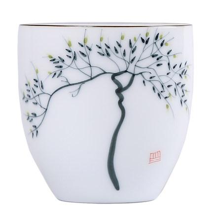 禅意功夫喝茶杯套装北欧家用客厅杯