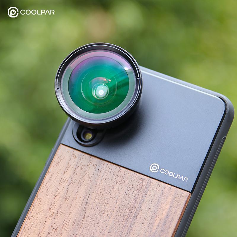 Coolpar酷帕手机广角镜头微距鱼眼长焦镜头套装苹果xsmax华为通用