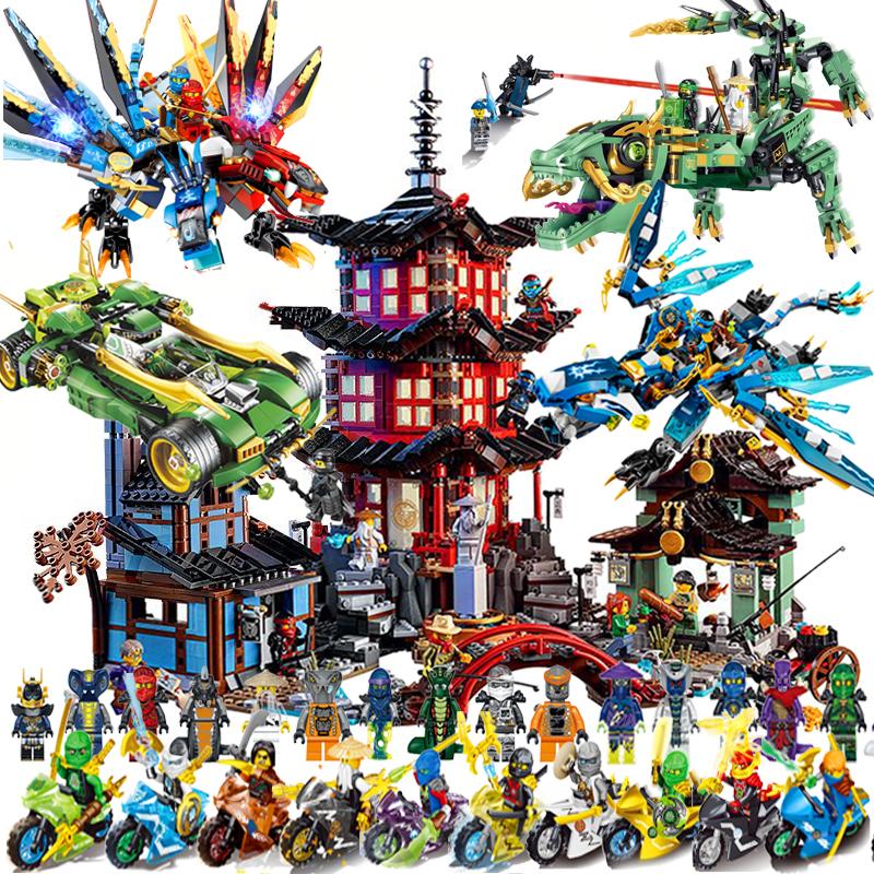 2021新品乐高积木幻影忍者巨龙7男孩儿童6益智拼装玩具拼图8-10岁
