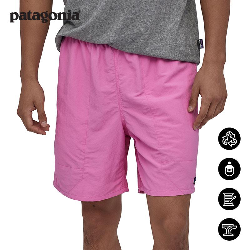 patagonia巴塔哥尼亚男士夏季Baggies休闲速干7英寸冲浪短裤58034