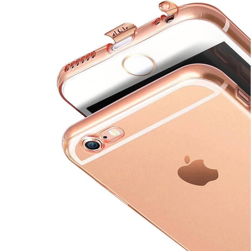 iyh iPhone6手機殼蘋果6s超薄透明套軟膠矽膠簡約防摔軟殼男plus