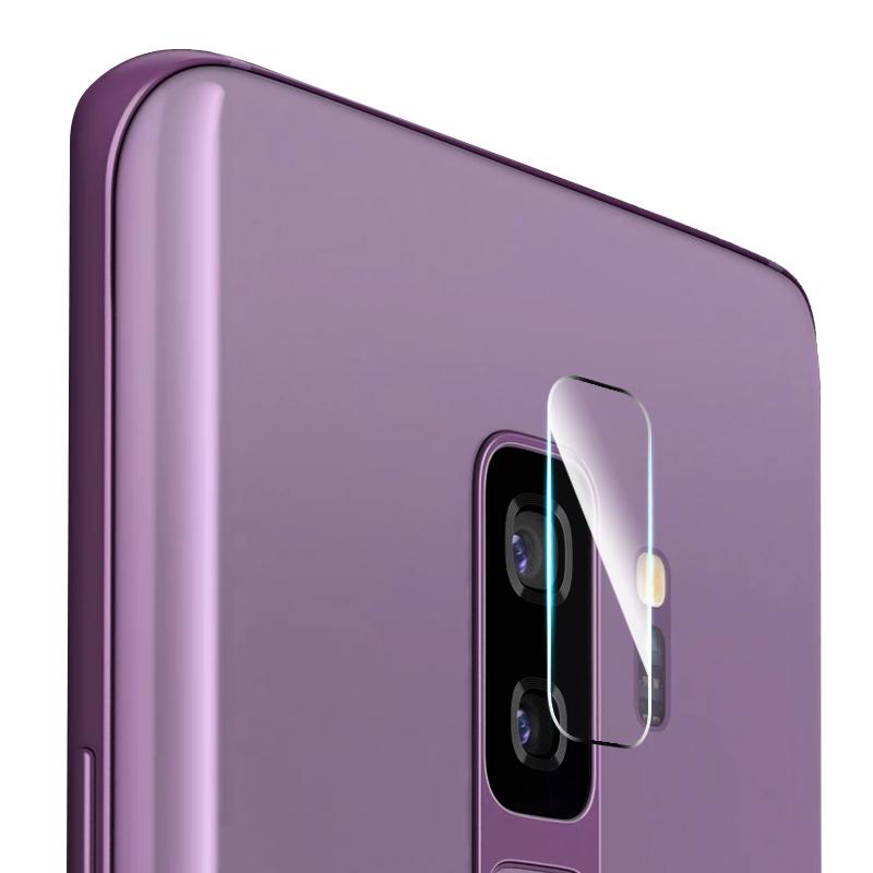 宝仕利三星S9镜头膜S9Plus后摄像头保护圈钢化膜背膜镜片S9+防爆耐刮花曲面全覆盖贴纸玻璃手机贴膜拍照配件