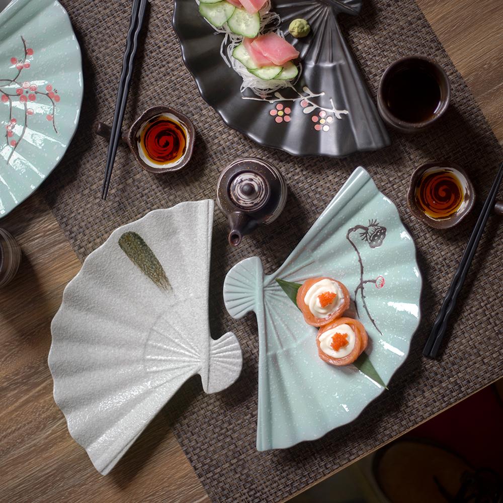 创意日式和风餐具釉下手绘特色餐厅满59.80元可用29.9元优惠券