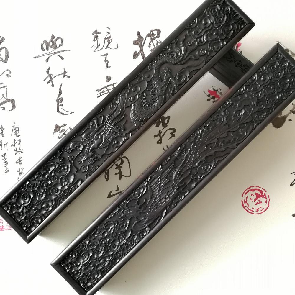胎毛笔diy定做 精品紫光檀盒 手工雕高档胎发笔盒 满月胎毛纪念品