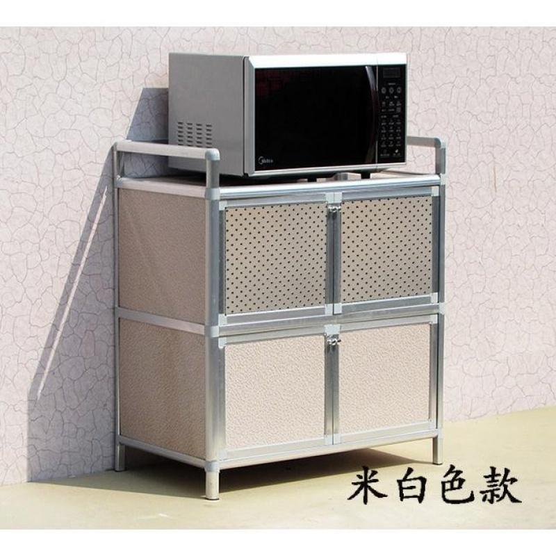 储物柜铝合金柜厨房橱柜煤气灶台柜阳台柜菜柜碗柜茶水柜餐边柜子
