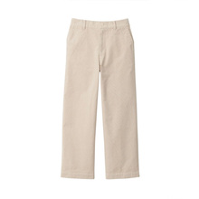 MUJI Women's Elastic Corduroy Light Wide Edition Pants