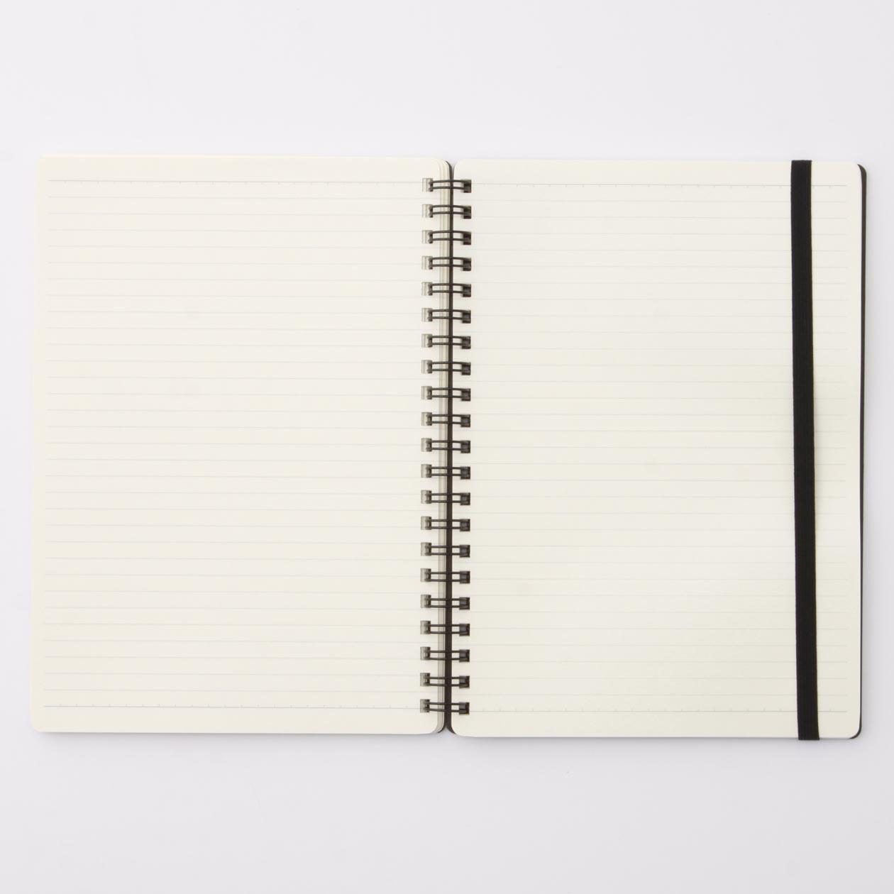 無印良品 MUJI 高 順滑雙環筆記本