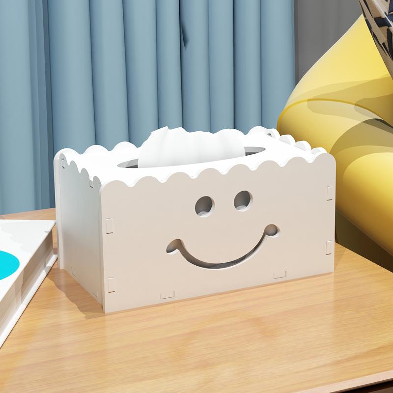 家用纸巾抽盒子时尚卧室创意纸巾盒客厅欧式餐巾纸盒可爱抽纸盒