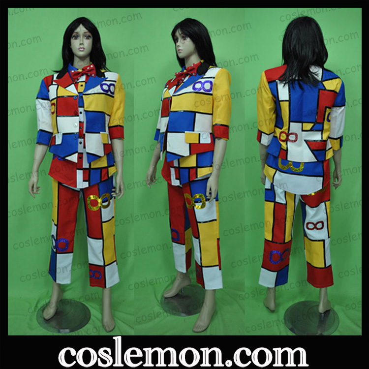 Coslemon pass 8 kanjani ∞ red and white song and war cos clothing full Cosplay mens and womens clothing