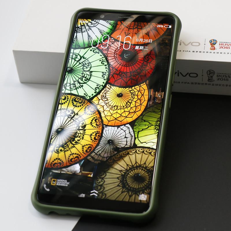 seepoo色布vivo x20plus手机壳X20A硅胶套个性手机套防摔软套挂绳