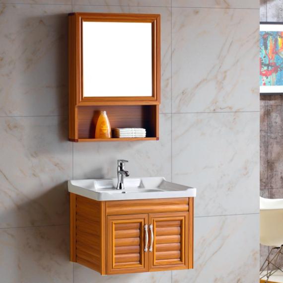 11月24日最新优惠迷你洗手盆太空铝浴室柜洗脸盆柜组合洗面盆小户型卫生间洗漱台盆