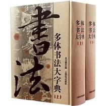 上海辞书拼音笔画索引篆书隶书楷书行书草书印刷精装工具书出版物银奖一书在手方便实用选字典型一字五体多体书法大字典