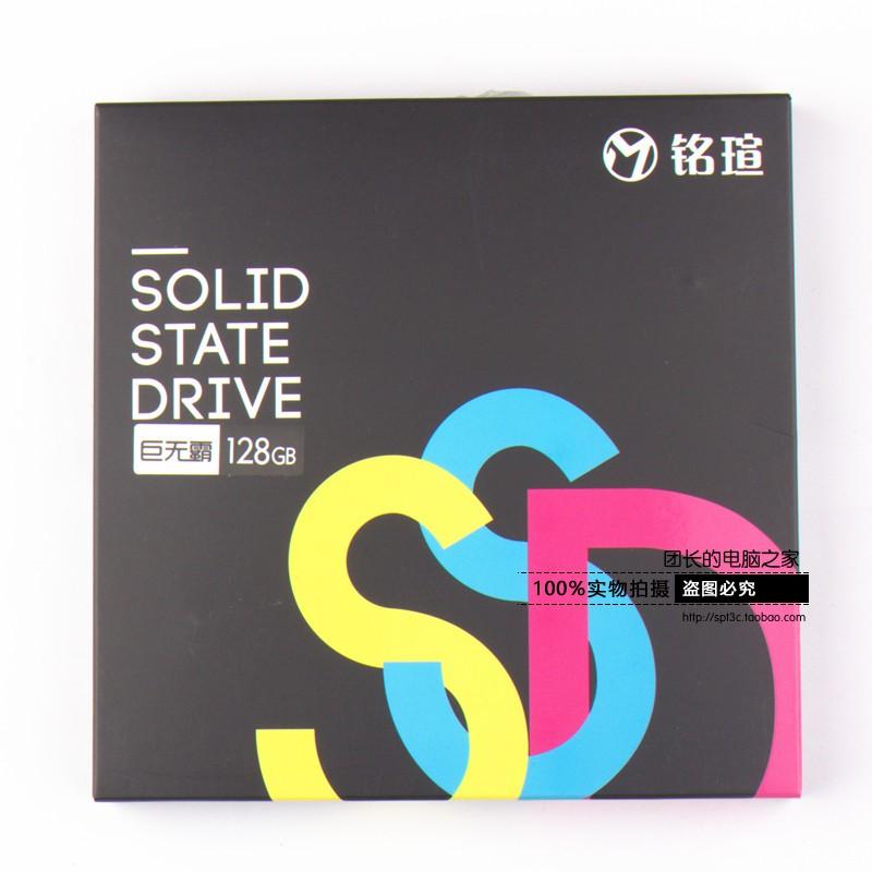 铭�u128G SSD固态硬盘 A6L 闪迪MLC颗粒 全新行货正品 联保3年