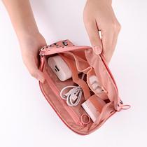 数码收纳包充电宝数据线大容量便携旅行充电器耳机整理包收纳袋