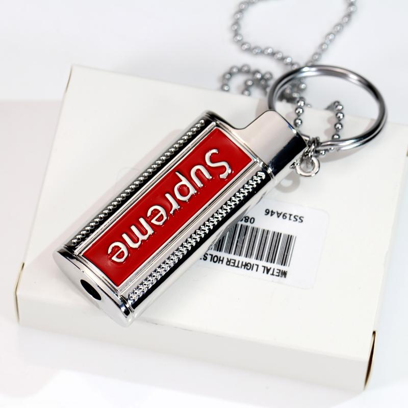 (用18.7元券)现货ins潮牌j5套supreme 19ss项链