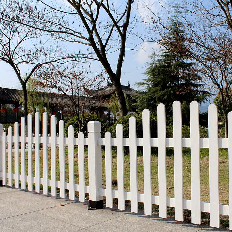 别墅围墙室外庭院栏杆护栏花园园艺围栏木制防腐木栅栏隔断小篱笆
